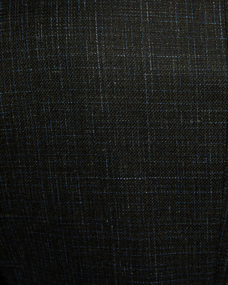 Image 3 of 3: Ermenegildo Zegna Men's Heathered Wool/Cashmere Regular-Fit Blazer