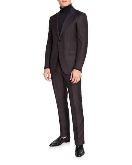Ermenegildo Zegna Men's Trofeo Stripe Two-Piece Suit