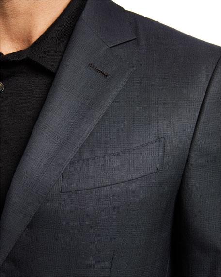 Ermenegildo Zegna Men's 15milmil15 Tonal Plaid Two-Button Suit