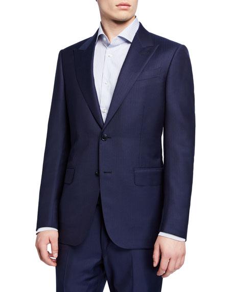 Ermenegildo Zegna Men's Tonal Stripe Two-Piece Suit