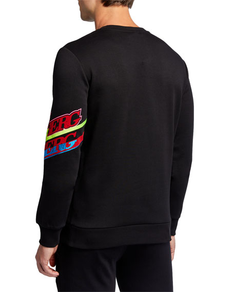 Iceberg Men's Logo-Sleeve Sweatshirt