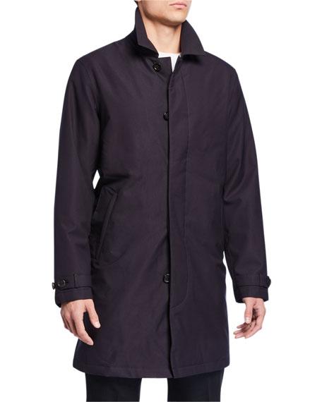 Z Zegna Men's Microfiber Raincoat