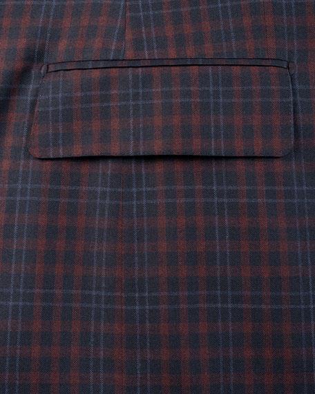 Isaia Men's Two-Tone Check Two-Button Jacket