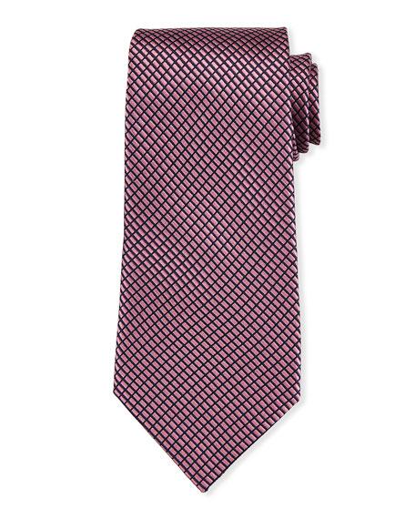 Ermenegildo Zegna Screen Weave Silk Tie