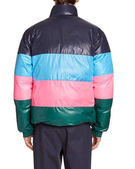 Kenzo Men's Reversible Down Puffer Coat