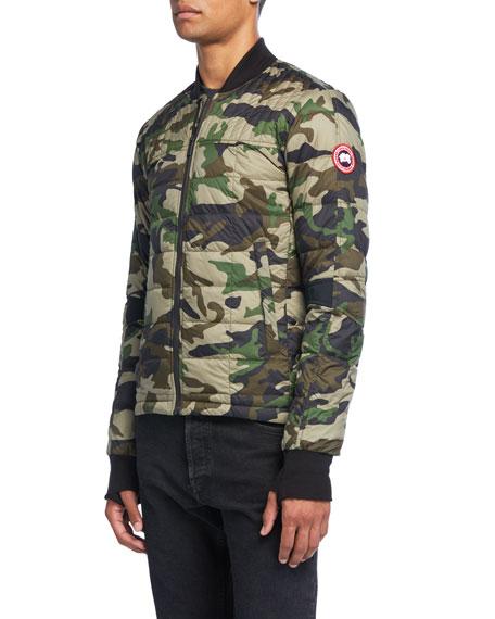 Canada Goose Men's Dunham Camo-Print Bomber Jacket