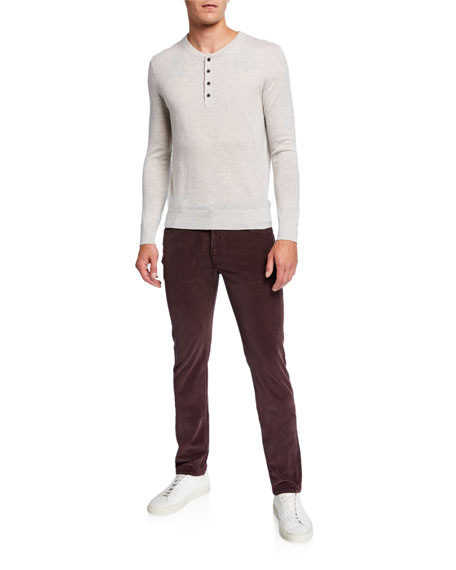 Jacob Cohen Men's 5-Pocket Stretch-Corduroy Pants