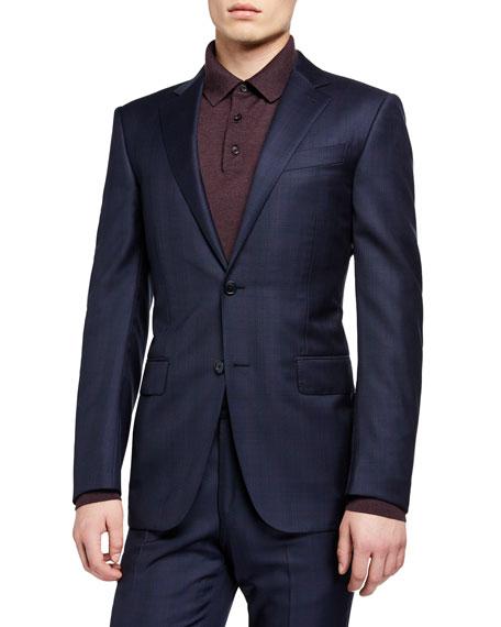 Ermenegildo Zegna Men's Two-Piece Plaid Wool Suit