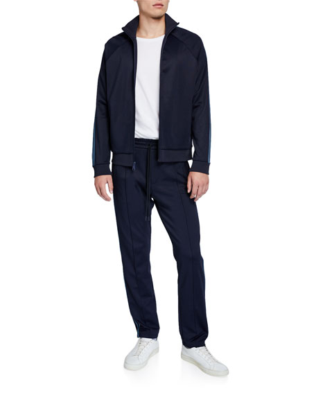 Image 3 of 3: Vince Men's Elevated Track Pants
