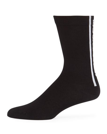 Burberry Men's Branded Cotton Sport Socks
