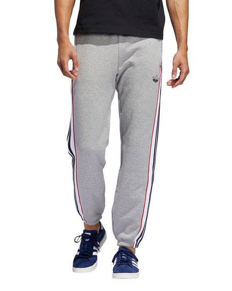 Adidas Pants Men's Terry Cloth Jogger Pants
