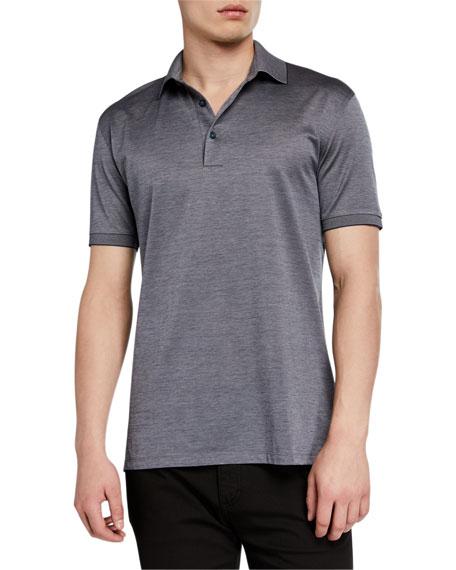 Ermenegildo Zegna Men's Pique Polo Shirt