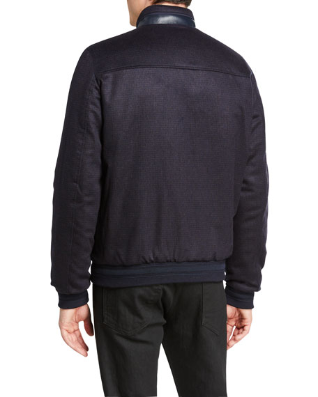 Stefano Ricci Men's Reversible Blouson Jacket
