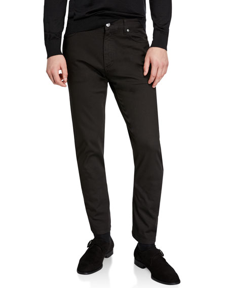 Ermenegildo Zegna Men's 5-Pocket Canvas Pants