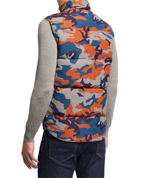 Canada Goose Men's Freestyle Camo Down Crew Vest