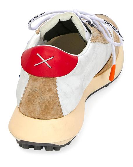 Off-White Men's Arrow Colorblock Running Sneakers