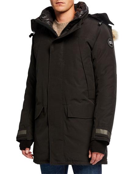 Canada Goose Men's Sherridon Fur-Trim Hooded Parka