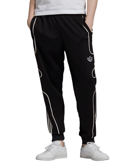 Adidas Pants Men's F Strike Track Pants w/ Piping