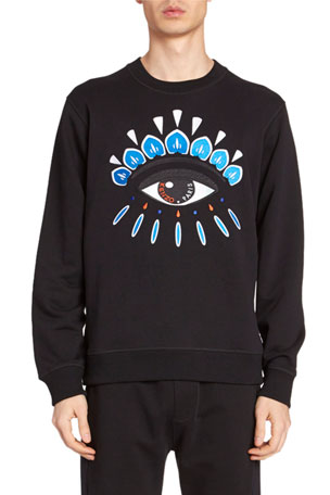 Kenzo Men's Eye Embroidery Sweatshirt