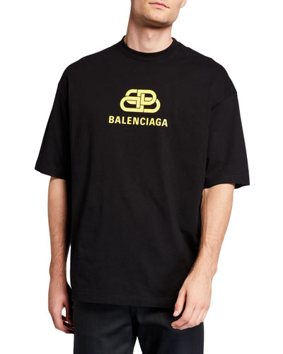 Men's BB Logo Typographic T-Shirt