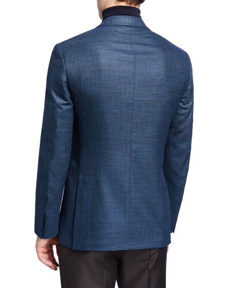 Ermenegildo Zegna Men's Textured Wool Blazer