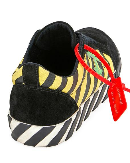 Off-White Men's Arrow Striped Low-Top Sneakers
