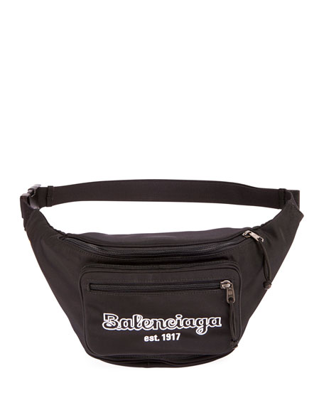 Balenciaga Men's Explorer Belt Bag/Fanny Pack