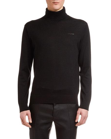 Dsquared2 Men's Wool Turtleneck Sweater