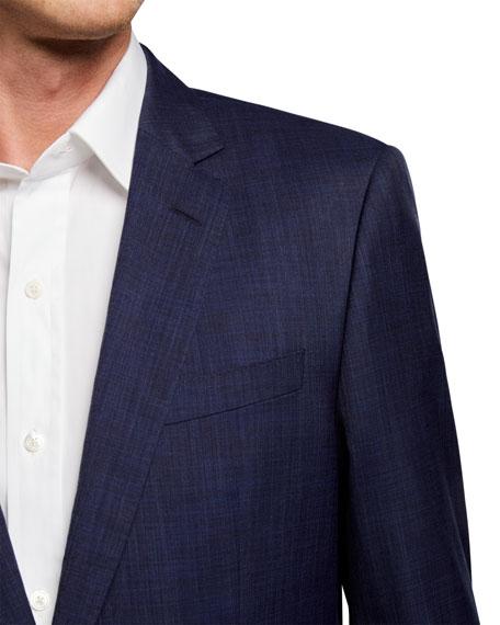 BOSS Men's Slim-Fit Textured Two-Piece Suit
