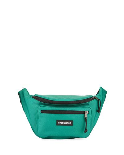 Men's Explorer Nylon Belt Bag/Fanny Pack