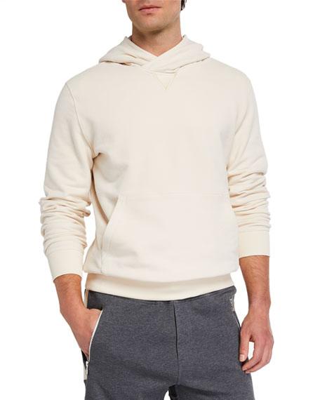 Brunello Cucinelli Men's Cross-Tab Pullover Style
