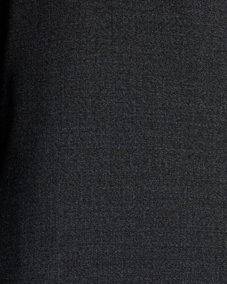 Canali Men's Solid Stretch-Wool Two-Piece Suit