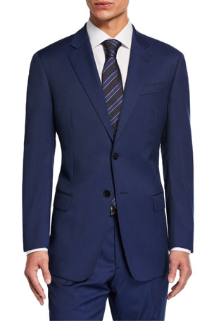 Emporio Armani Men's G-Line Virgin Wool Two-Piece Suit