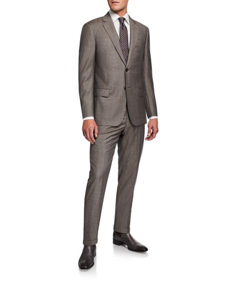 Emporio Armani Men's G Line Super 140s Wool Suit