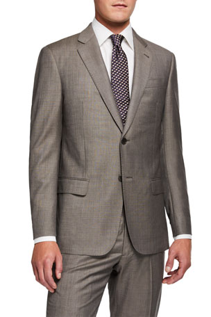 Emporio Armani Men's G Line Super 140s Wool Suit