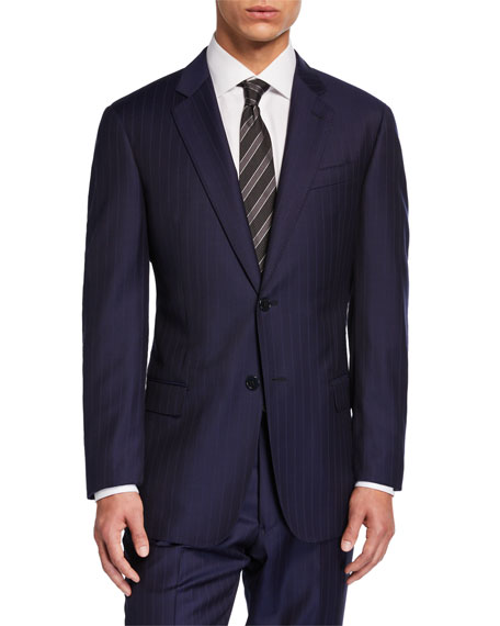 Emporio Armani Men's G-Line Tonal Pinstripe Two-Piece Suit