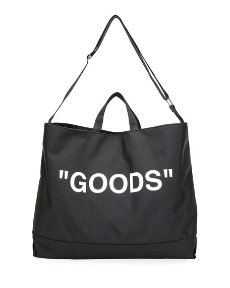 Off-White GOODS Tote Bag