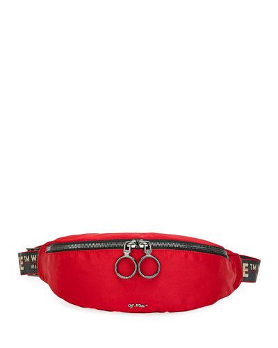 Men's Web-Strap Belt Bag/Fanny Pack