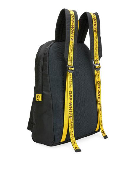 Off-White Men's Easy Arrow Nylon Backpack