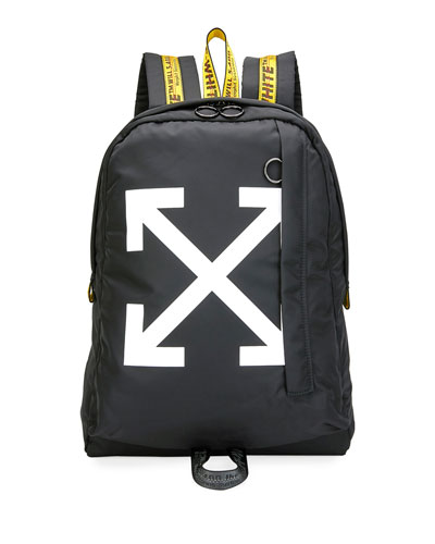 Men's Easy Arrow Nylon Backpack