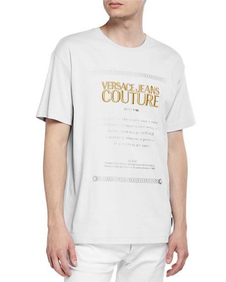Versace Jeans Couture Men's Warranty Logo Graphic T-Shirt