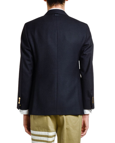 Thom Browne Men's Wool Three-Button Jacket