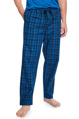 Derek Rose Men's Barker 24 Plaid Lounge Pants