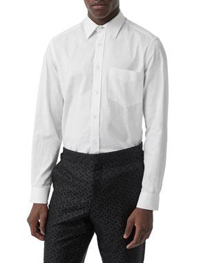 c9636fe416a7 Burberry Men's Shirts at Neiman Marcus