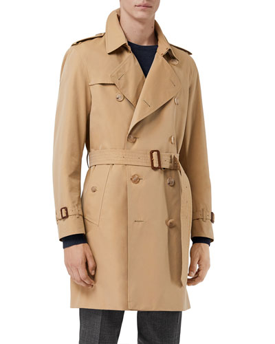 Men's Kensington Belted Trench Coat