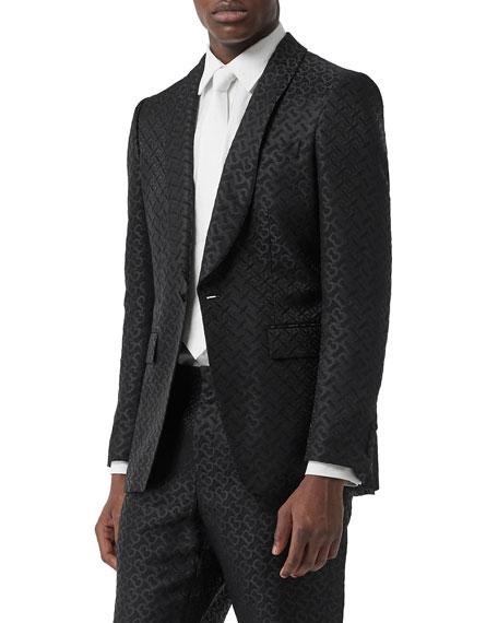 Burberry Men's TB Logo Two-Piece Suit