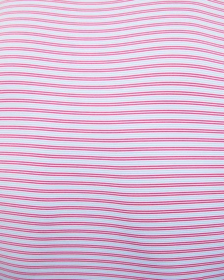 Peter Millar Men's Striped Performance Polo Shirt