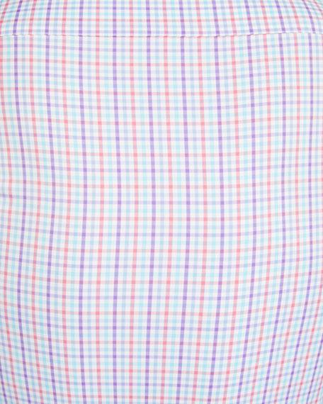 Peter Millar Men's Check Performance Sport Shirt