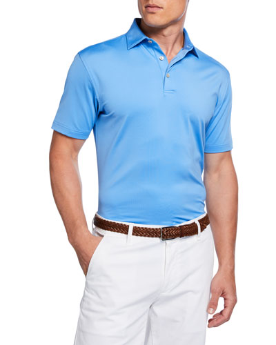 Men's Classic Performance Fit Solid Polo Shirt