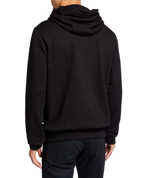 Burberry Men's Photo-Print Pullover Hoodie